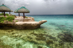 Tropical island beach landscape Stock Image
