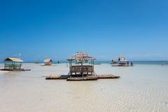 Tropical island beach. A tropical island beach in the philippines Stock Photos