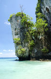 Tropical island beach in thailand Royalty Free Stock Image