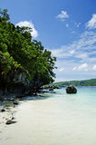 Tropical island beach in thailand Stock Photos