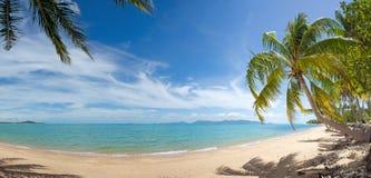 Tropical island beach Royalty Free Stock Photos