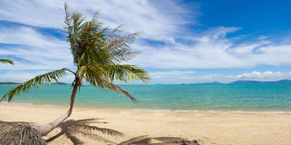 Tropical island beach Royalty Free Stock Photography