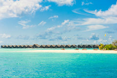 Tropical island beautiful landscape Stock Photos