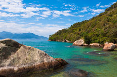 Tropical Island in Brazil Royalty Free Stock Image