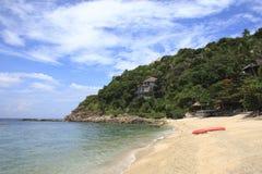 Tropical island coast Royalty Free Stock Photos