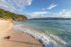 Tropical island coast Stock Photos