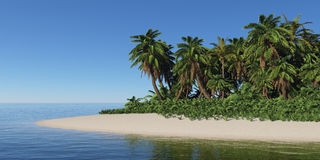 Tropical island. Stock Photography
