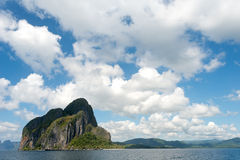 Tropical Island in El Nido, Palawan, The Philippines Stock Photos