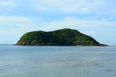 Tropical island Koh Ma in Thailand. Completely abandoned Stock Photography