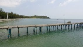 Koh rong island in cambodia. Tropical island koh rong in cambodia stock video footage
