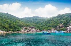 Tropical island Koh Tao, Thailand Stock Photos