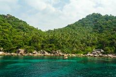 Tropical island Koh Tao, Thailand Royalty Free Stock Photos