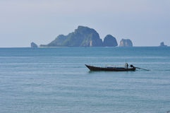 Tropical island, Krabi, Thailand Stock Photos