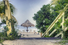 Tropical island Landscape Royalty Free Stock Photos