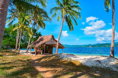 Tropical island landscape. El Nido, Palawan, Philippines, Southeast Asia Royalty Free Stock Photo