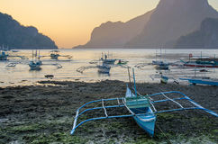 Tropical island landscape, El, Nido, Palawan, Philippines, Southeast Asia Royalty Free Stock Photography