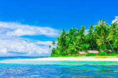 Tropical island landscape. Indonesia, Southeast Asia Stock Images