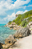 Tropical island landscape Stock Photography