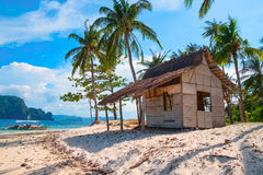 Tropical island landscape. Palawan, Philippines, Southeast Asia Royalty Free Stock Photography