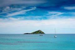 Tropical island Stock Photography