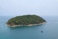 Tropical Island. Little tropical island in Thailand near Phuket Island Stock Image