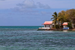 Tropical island in Mauritius Stock Images
