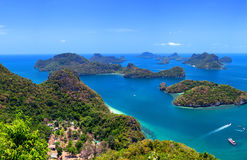 Tropical island nature, Thailand sea Royalty Free Stock Photography