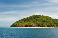Tropical island near Coron, Philippines Stock Photos