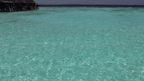 Tropical island at ocean. Maldives Stock Photography