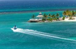 Tropical Island of Ocho Rios, Jamaica Royalty Free Stock Image