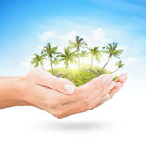 Tropical island Stock Image