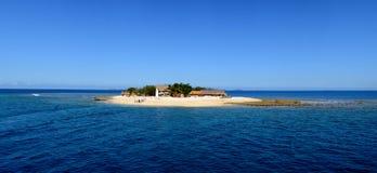 Tropical island paradise. South Sea Island tropical paradise in Fiji Stock Image