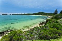 Tropical Island Paradise Stock Photo