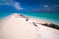Tropical island paradise royalty free stock photography
