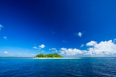 Tropical island paradise Stock Photography