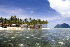 Tropical Island Paradise Royalty Free Stock Images