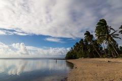 Tropical island paradise - Fijii, isle Beqa royalty free stock images