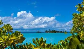 Tropical island paradise Royalty Free Stock Photo