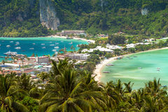 Tropical island, Phi-Phi Don, Thailand. Stock Photography