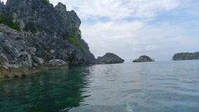 Tropical island. In the Philippines royalty free stock photography