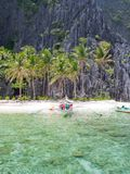On a tropical island  Philippines Stock Photos