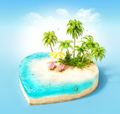 Tropical island Stock Photography
