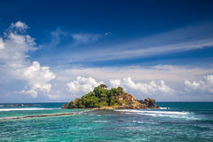 Tropical island Royalty Free Stock Photography