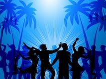 Tropical Island Represents Disco Dancing And Atoll Stock Photos