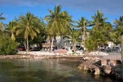 Tropical island resort hotel Royalty Free Stock Photo