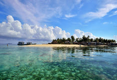 Tropical island in Sabah Borneo, Malaysia. Royalty Free Stock Image