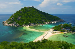 Tropical island in samui thailand Stock Photo