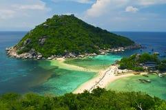 Tropical island in samui thailand Stock Photo