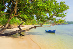 Tropical Island Scenery Royalty Free Stock Photography
