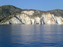 Tropical island shoreline Stock Photo